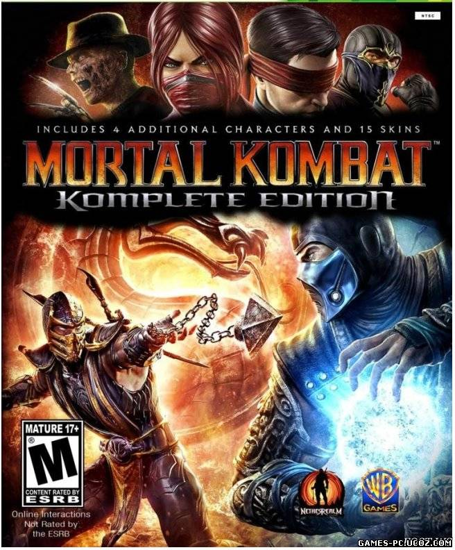 Постер для - Mortal Kombat (2013) PC [ENG]