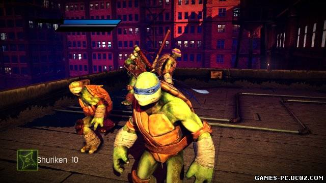 Teenage Mutant Ninja Turtles: Out of the Shadows (2013/PC/Английский) | ReРack от R.G. Virtus
