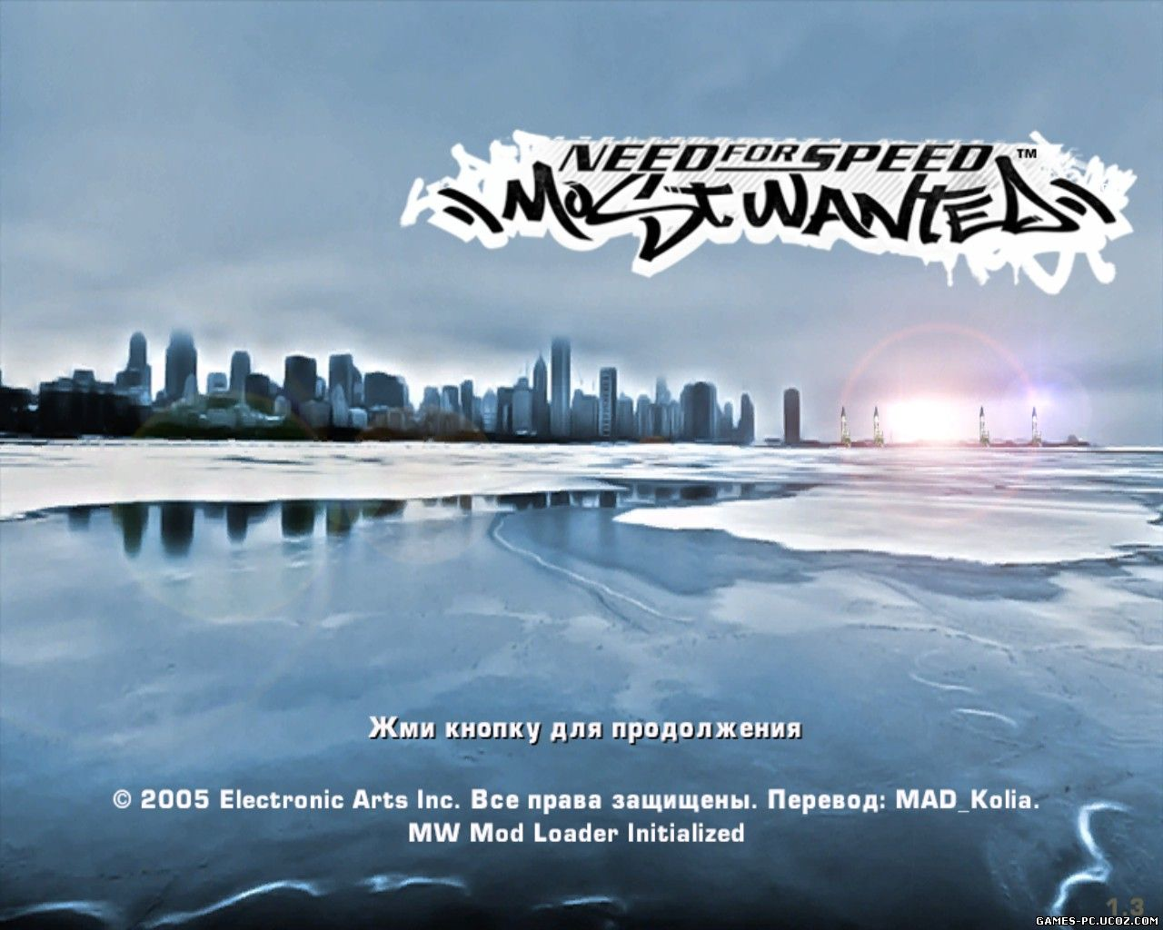 Need For Speed - Most Wanted [Winter Mod] (2014) [RUS]